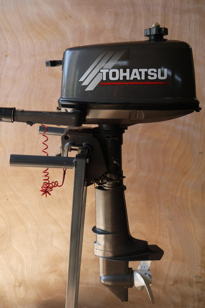 Tohatsu M5B,outboard motor from japan